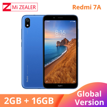 "Orijinal küresel sürüm Redmi 7A 2GB 16GB cep telefonu Snapdargon 439 Octa çekirdek 5.45 ""4000 mAh pil akıllı telefon"
