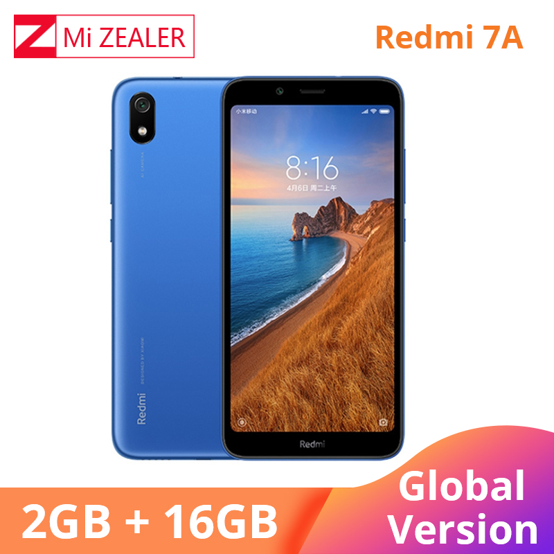 Version mondiale originale Redmi 7A 2GB 16GB téléphone portable Snapdargon 439 Octa Core 5.45