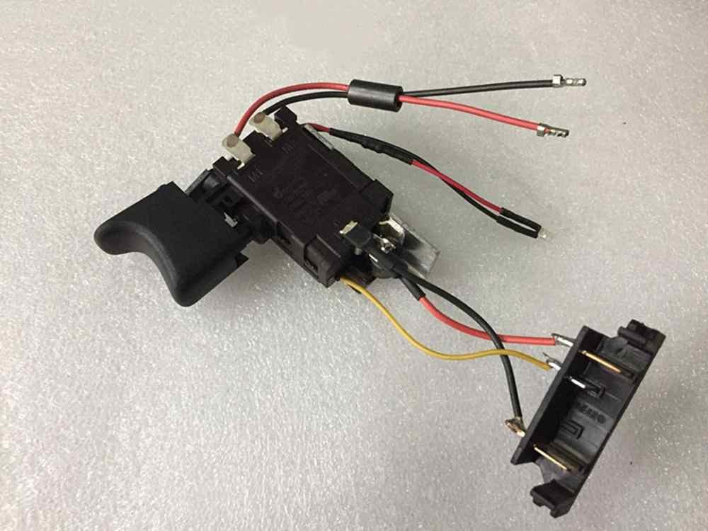 Para DEWALT DCD700, batería de litio, taladro de carga DCD710, interruptor de accesorios original