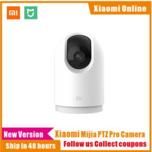 2020New Xiaomi Mijia 2K 3 PTZ Pro Mégapixels 360 Panoramique bluetooth Caméra IP Intelligente AI Détection bidirectionnelle Interphone De Sécurité À La Maison
