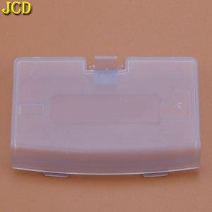 Image 2 - JCD 1 шт., Крышка батарейного отсека для Nintendo Gameboy Advance, замена крышки двери, Игровая приставка, чехол для задней двери GBA