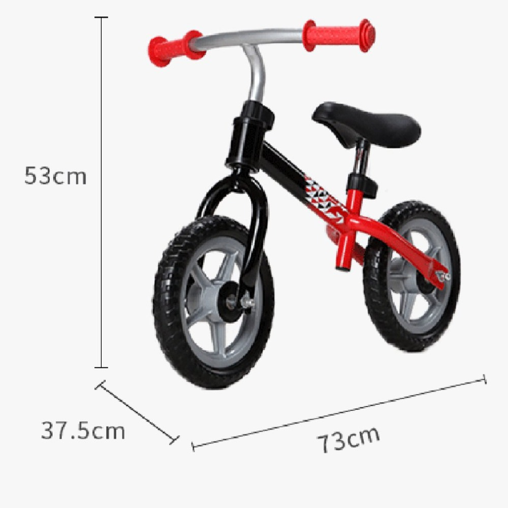 He4c97c51c93d4c8da5a4f747da2a3f36Y 10 inch Children Balance Bike Kids Riding Bicycle Indoor Outdoor Balance Bicycle No Foot Pedal Baby Walker Riding Toy