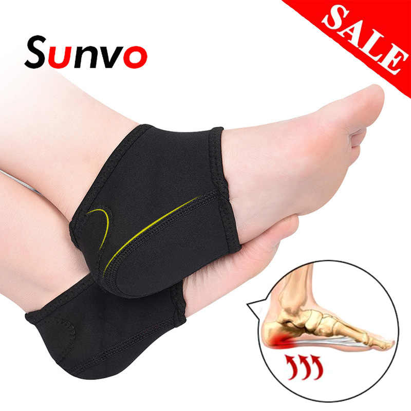 Plantar Fasciitis Socks for Achilles Tendonitis Calluses Spurs Cracked Feet Pain Relief Heel Pads Cushion Foot Care Insert Pad
