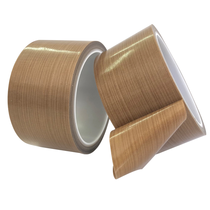 2PCS 0.13mm PTFE High Temperature Heat-Resistant Adhesive Tape 50mm Wide 10M Long For Vacuum, Hand And Impulse Sealers
