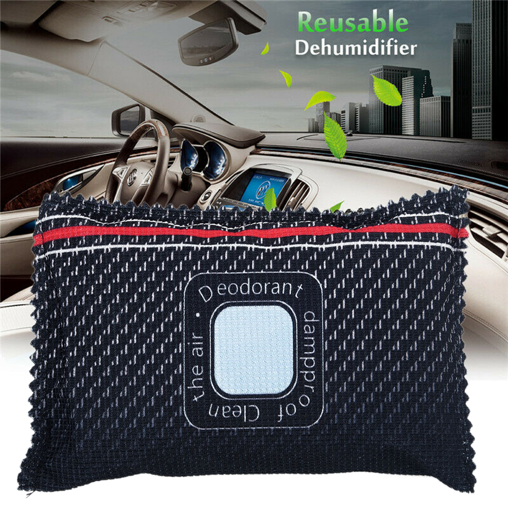Car Desiccant Non-toxic Dehumidifier Anti Mist Moisture Absorbing Bamboo Charcoal Bag Just Put In The Microwave
