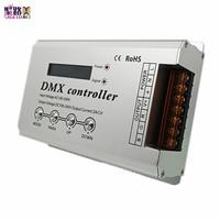 DMX300 AC110V 220V RGB Led DMX LED Decoder Console Controller Dimmer for 110V/220V RGB Led Neon Strip Light Tape 1320W 3CH x 2A