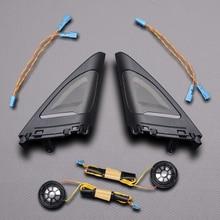 Car Tweeter Cover Trim Kit For BMW F34 3Gt Front Rear Door Speaker Audio Loudspeaker Original Upgrade Suit Modification