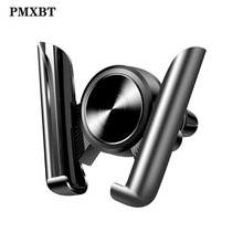 Gravity Car Holder For Phone in Car Air Vent Clip Mount No Magnetic Mobile Smart Phone Holder Support Cell GPS Stand For Samsung car air vent mount cradle holder stand for smart mobile cell phone gps 10166