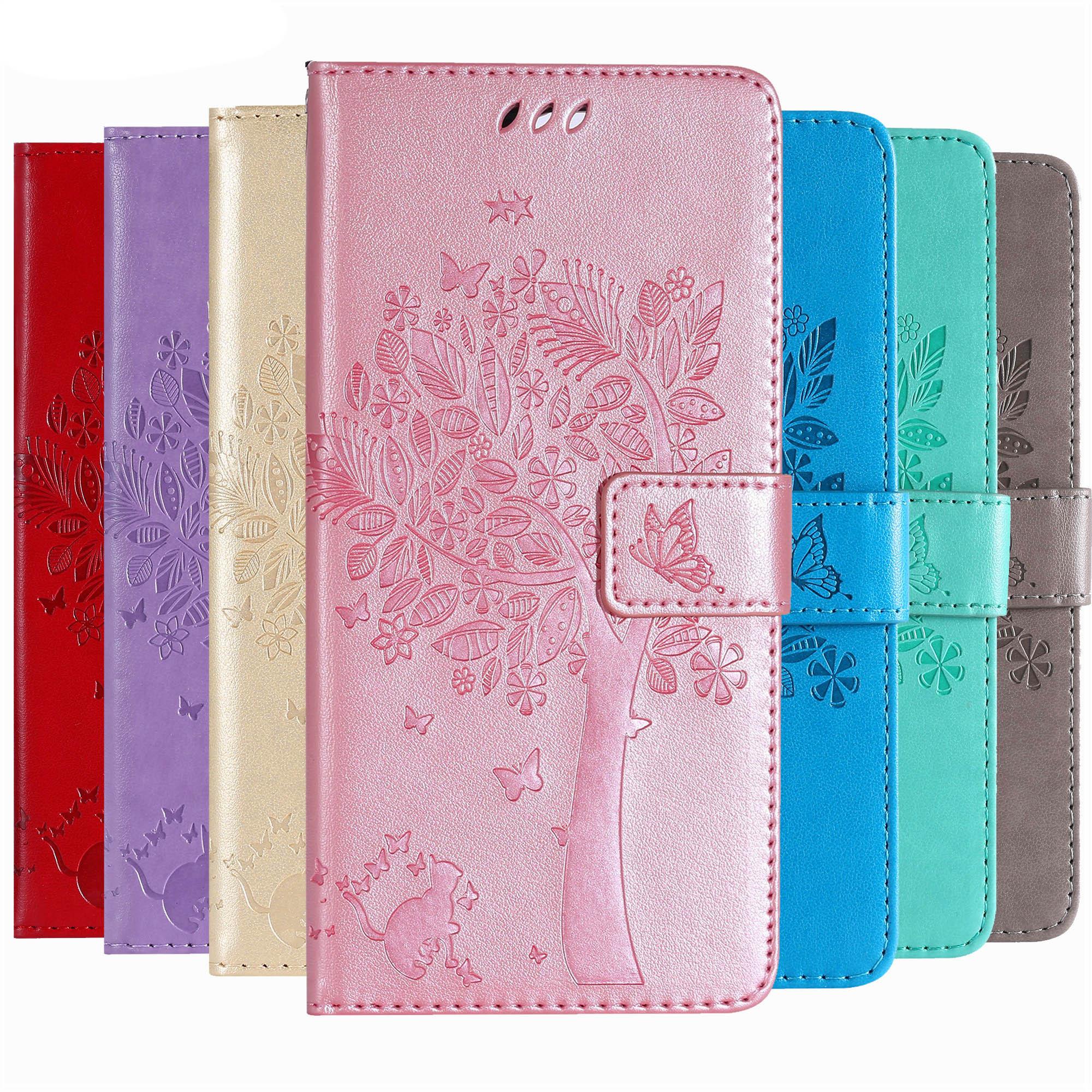 Wallet Leather Case For LG G3 G4 Mini G5 G7 Q6 Q8 Luxury Flip Coque Phone Bag Cover For LG C40 C70 V10 V20 V30 V40 Cases Fundas