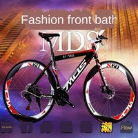 Bike Fixed Gear Bike Snowmobile 4.0 Widened Large Tire Variable Speed Fat Tire Car Shock Absorption Mountain road bike bicycles