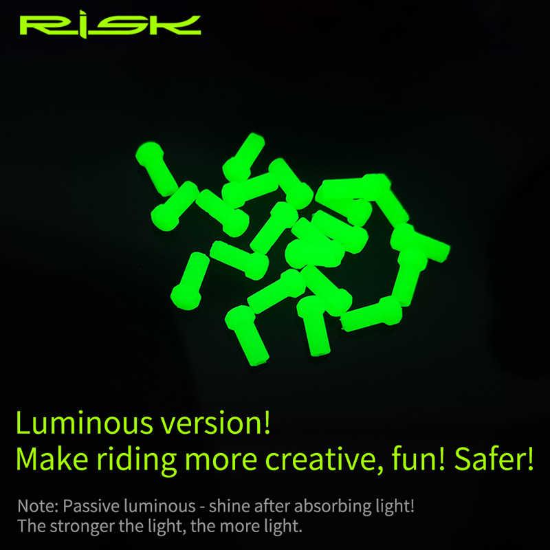 RISK-forro lubricante para frenos de bicicleta, cubierta para tubo de aceite, catéter para Cable de cambio de bicicleta de montaña, Protector de línea interna para MTB