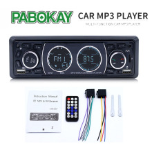 8808 1 din carro rádios 4 lcd lcd lcd estéreo mp3 player de música bluetooth duplo usb tf aux rádio fm mãos chamando in-dash