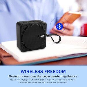 Image 4 - ZAPET C2 Открытый Мини Bluetooth динамик IPX6 Водонепроницаемый портативный динамик с микрофоном бас стерео колонки для iphone xiaomi телефон