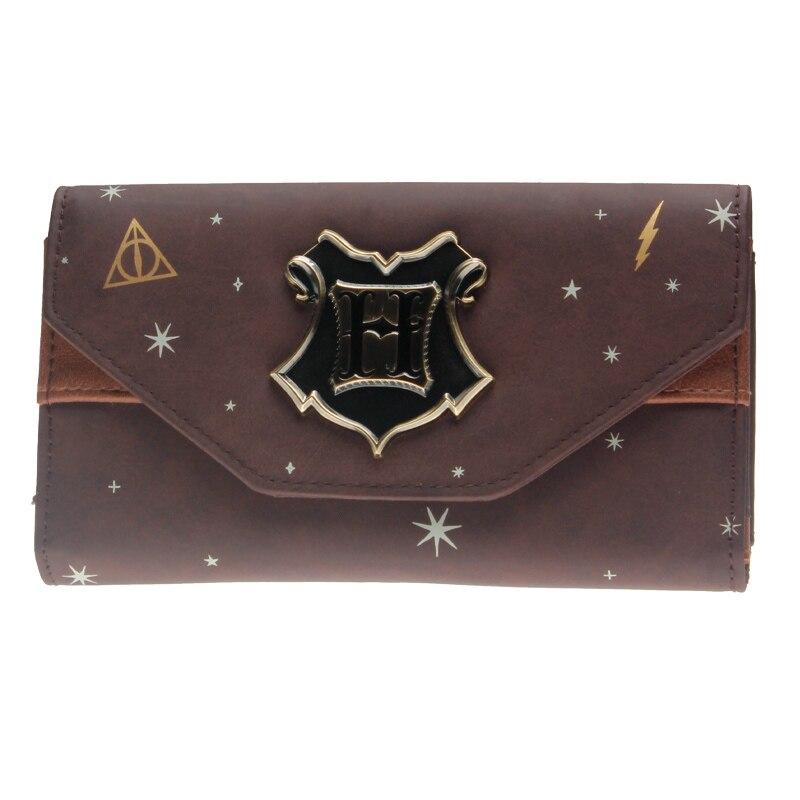 Hogwarts Wallet  Female Purse Lady Purses Phone Pocket Card Holder DFT8305