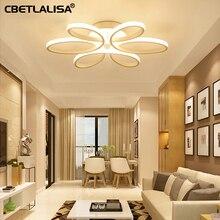 Modern LED chandelier lighting living room bedroom dining kitchen luxury chandelier hot продажаAC90v-260v 65%