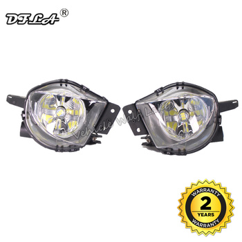LED Car Light For BMW E90 E91 2005 2006 2007 2008 Car-styling Front Bumper LED Fog Light Fog Lamp With LED Bulbs image