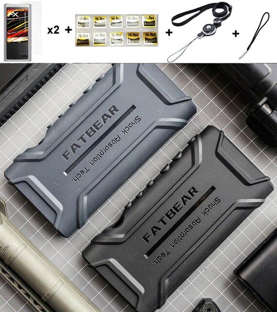 Anti Skid Anti bussare Antiurto Armatura di Protezione Completa Della Pelle Della Copertura di Caso Per Sony Walkman NW ZX300 ZX300A NW ZX300