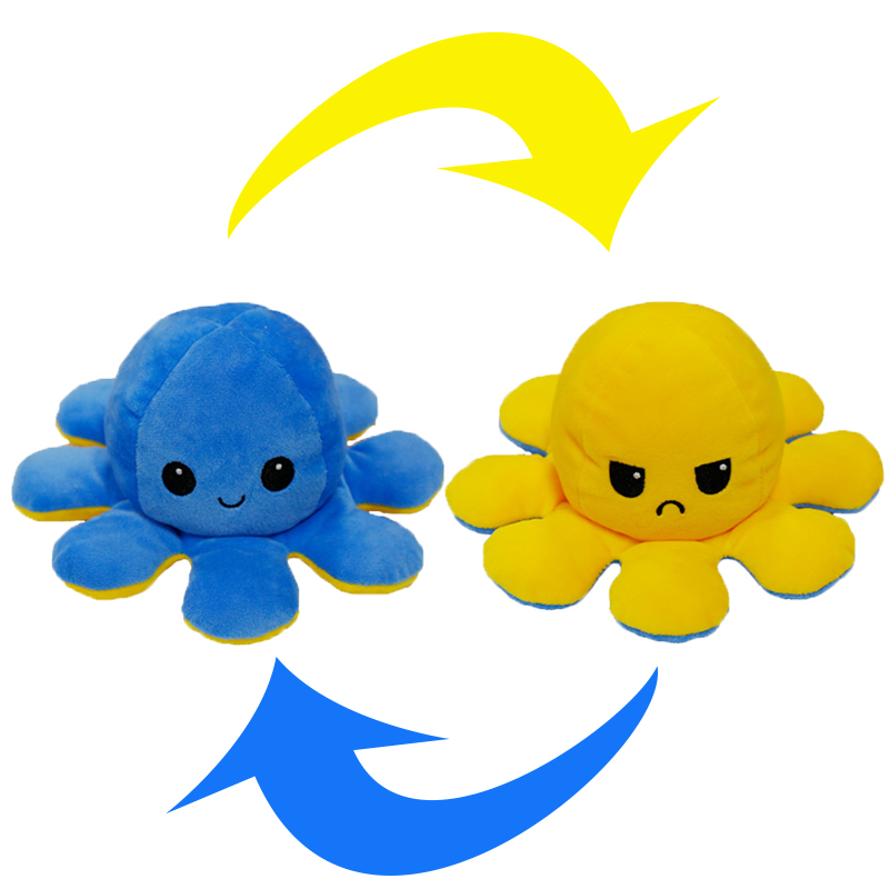 Reversible Octopus Stuffed Toy31