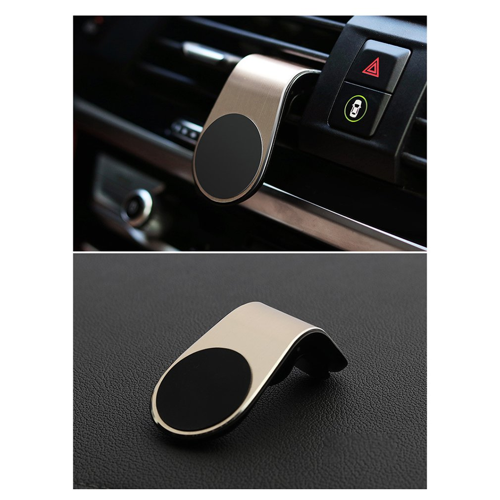 Multi-function Magnetic Car Holder For Phone In Car Air Vent Mount Clip Strong Magnet Mobile Cell Smartphone Holder Car Bracket