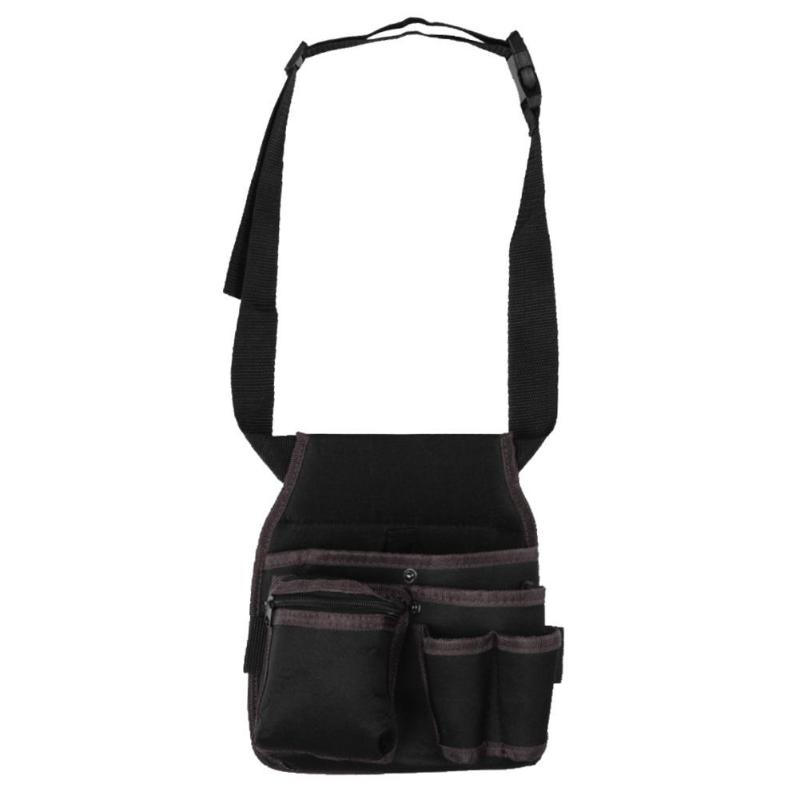 3 Layers Multi-function Electrician Tools Storage Bag Waist Pouch Toolkit