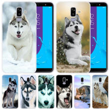 Мягкий чехол Alaskan Malamute Siberian husky dog для samsung Galaxy J8 J7 J6 J4 J2 2018 Core J3 2016 J5 2017 EU J4 Plus J7 Prime(China)
