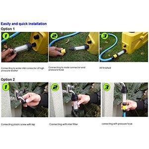 Image 5 - Czyszczenie pod wysokim ciśnieniem pistolet wąż ogrodowy myjka ciśnieniowa filtr wody filtr do Karcher K2 K7