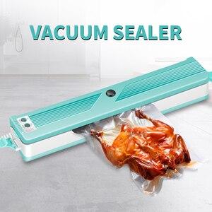 Image 1 - 2020 yeni vakumlama makinesi ev mutfak ekleyin 10 vakum torbaları, ev gıda paketleme makinesi