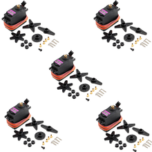 5 Pcs MG996 Mg 996R MG996R 996 Metalen Tandwielen Digitale Servo Motor Voor High Speed & Koppel Rc Auto 1/8 helicopter Boot