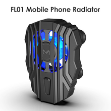FL01 Mobile Phone Cooling Universal Mobile Radiator USB Rechargeable Gaming Cooling Fan Game Pad Holder Stand Heat Sink Cooler