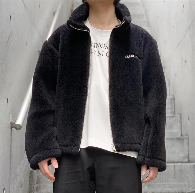 20SS TOP High Quality Latest Hairy AMBUSH Jacket Men Women Streetwear Coat Fashion Jackets Streetwear