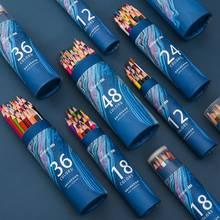 12/24/36/48 Lapis De Cor Professional Water Soluble Color Pencil Premium Soft Core Watercolor Pencils For Art School Supplies