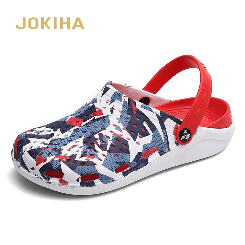 2020 New Summer Men Women Clogs Slippers Brand Fashion Men's Garden Clog Unisex Beach Sandals Lovers Clog Sandal Summer Shoes
