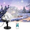 Led Weihnachten Schneeflocke Laser Licht Schneefall Projektor IP65 Garten Lampe Moving Schnee Im Freien Weihnachten Dekorationen Für Haus-in Bühnen-Lichteffekt aus Licht & Beleuchtung bei