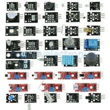37 חיישן אולטימטיבי 37 ב 1 חיישן מודולים ערכת בתור התחלת Arduino קיס MCU משתמש חינוך DIY ערכות Diy אלקטרוני