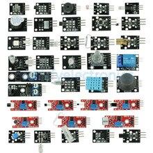 37 センサー究極で 37 Arduino スターターキーズの 1 センサーモジュールキット MCU 教育ユーザー DIY キット Diy 電子