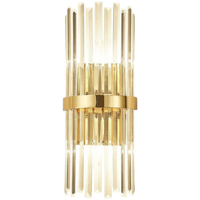 Modern Luxury Crystal Wall Lamp Living Room Bedroom Bedside Sconce Lights Decor Home Lighting Fixture Luminaria Gold Home Decor
