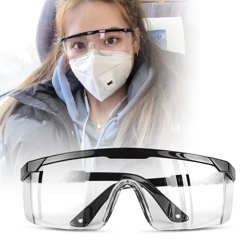 Safety Goggles Anti Fog Dust Splash-proof Glasses Work Eye Protection Health Care