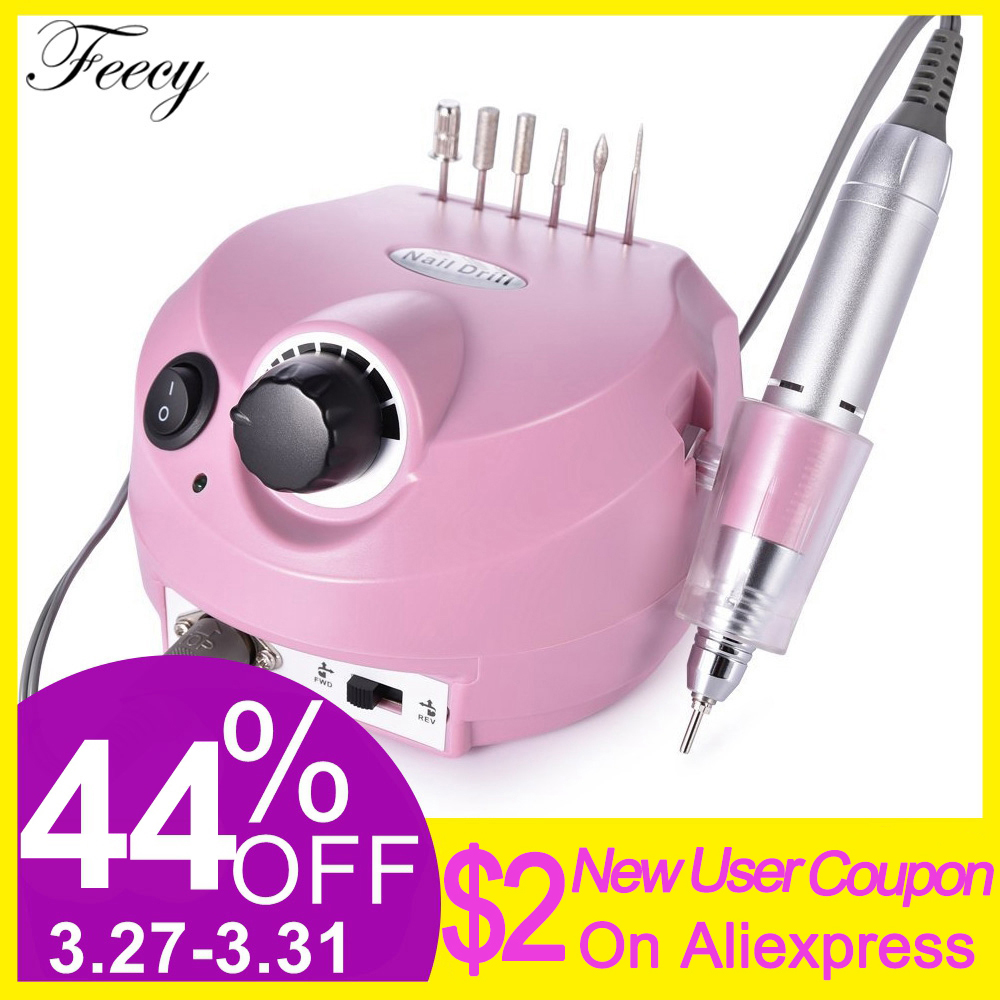 Manicure And Pedicure Milling Electric Machine For Nail Electric Nail Drill Mill Apparatus For Manicure Nail Art Machine Feecy