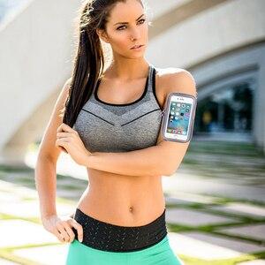 Сумка для бега, чехол для телефона с повязкой на руку, спортивный чехол на запястье, универсальный чехол для телефона, смартфона, держатель д...