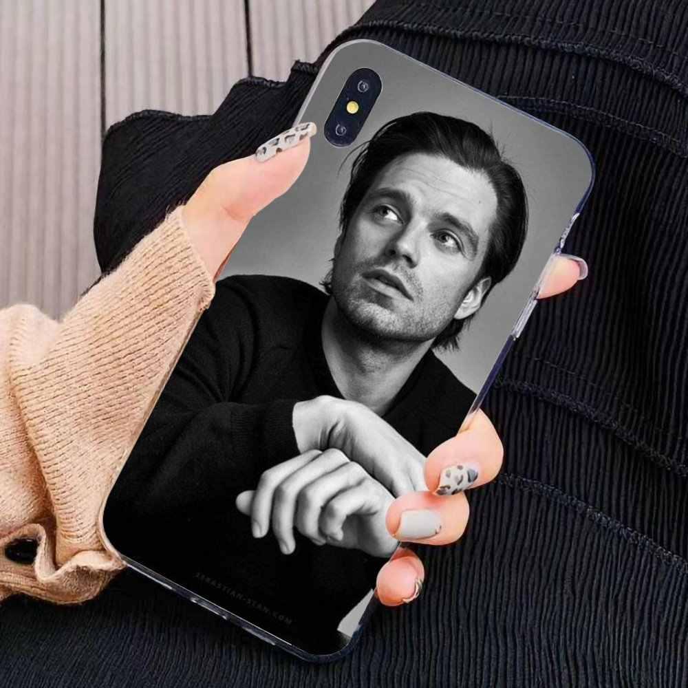 소프트 실리콘 케이스 Sebastian Stan Bucky Barnes Xiaomi Mi5 Mi5S Mi6 Mi3 Mi4 Mi4i Mi4C Redmi 참고 2 3 3 5 5A 6 6A 프로