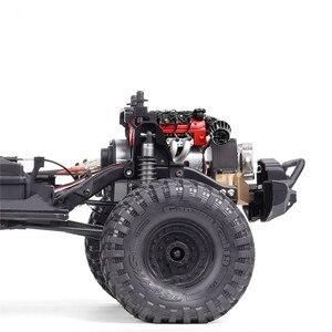 Image 3 - LS7シミュレートV8電気エンジンモーターラジエータークーラーため1/10 TRX4ディフェンダーSCX10 rc rcクローラ部品冷却ファン