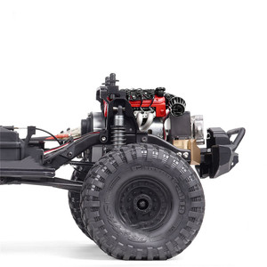 Image 3 - Simulate LS7 V8 Electric Engine Motor Radiator Dual Cooler for 1/10 TRX4 Defender SCX10 RC RC Crawler Parts Cooling Fan