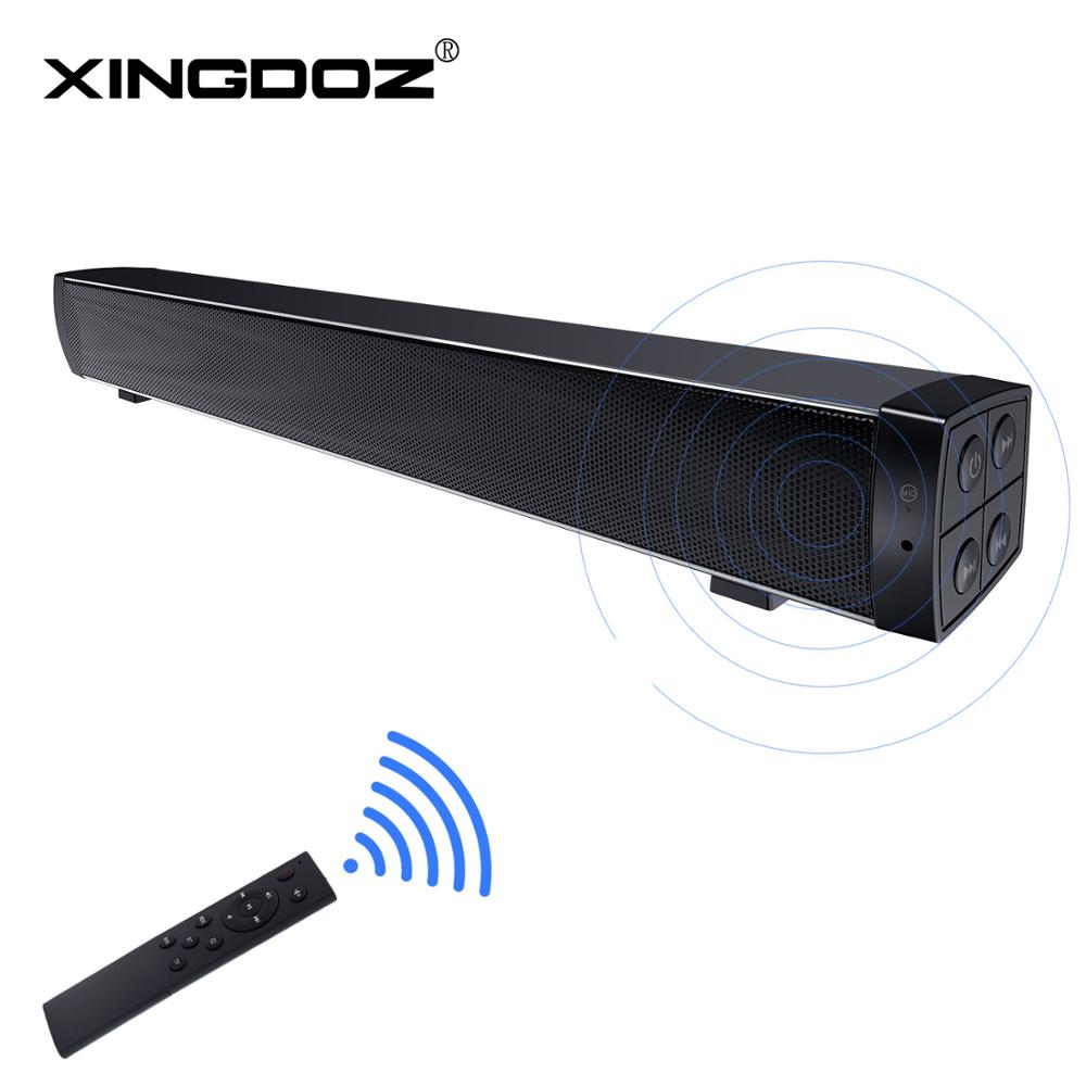 Bluetooth SoundBars,Portable Wired and Wireless Mini Soundbar Speakers for Home Theater Surround Sound