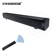 Bluetooth SoundBars, taşınabilir kablolu ve kablosuz Mini Soundbar hoparlörler ev sineması Surround ses