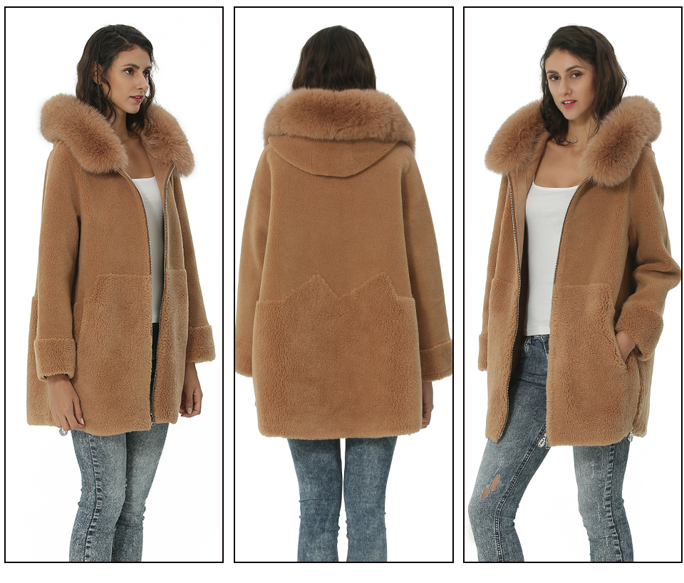 Inverno Giacca Donne States 8