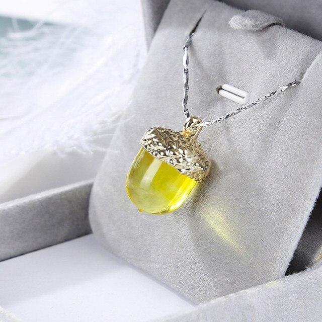 Фото 1 комплект желудь тип смолы силиконовые формы ожерелье крышка