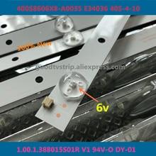 60 PCS/lot 100%NEW good quality LCD TV backlight bar FOR 400S8606X8 A0035 E34036 40S 4 10 1.00.1.388015S01R V1 94V O DY 01 14 or