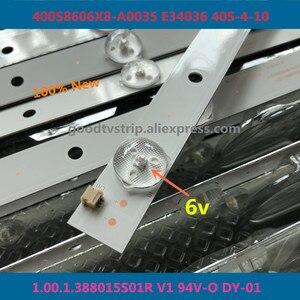 Image 1 - 60 Stks/partij 100% Nieuwe Goede Kwaliteit Lcd Tv Backlight Bar Voor 400S8606X8 A0035 E34036 40S 4 10 1.00.1.388015 S01R V1 94V O DY 01 14 of