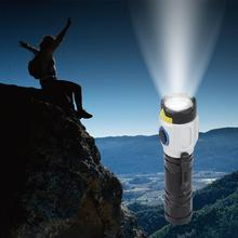 LED Flashlight G2X Series High Power Torch With Tough Body Lights And USB Charging For Outdoor Travel Night Riding Fishing