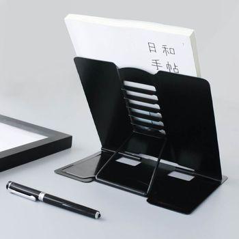 Portable Metal Adjustable Reading Book Holder Support Document Shelf Bookstand 1